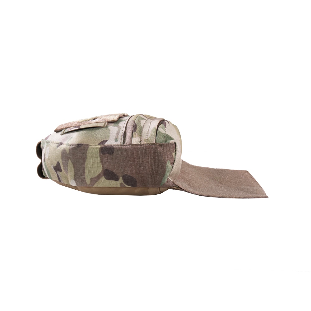 WARRIOR assault systems WAS tasca fron Drop Down Velcro Utility Pouch coyote cb